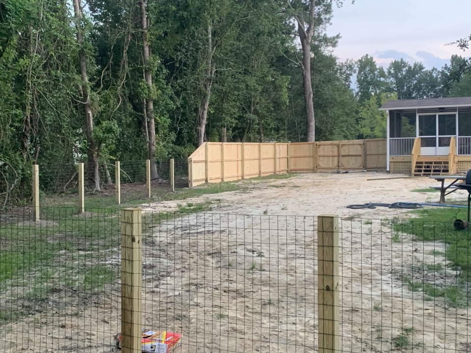Combination Fence
