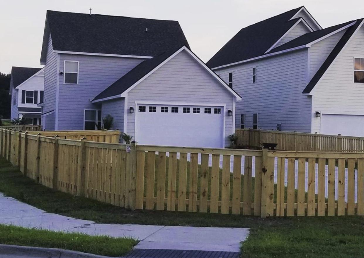 Semi Privacy Fence
